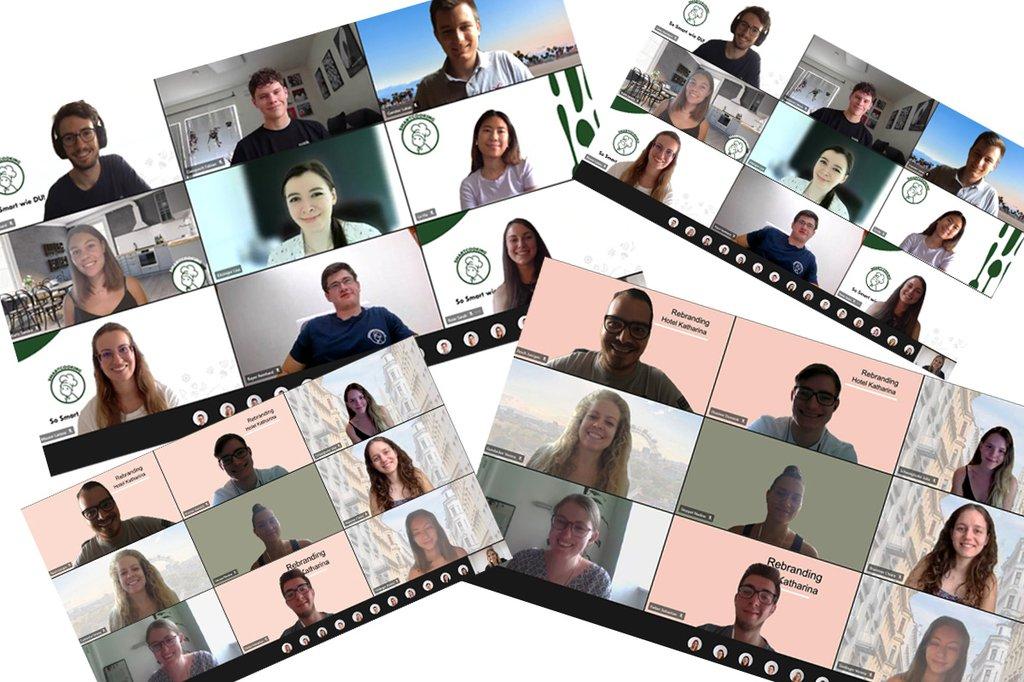 Studierende des Masterstudiengangs Digital Marketing & Kommunikation erarbeiten Konzepte für die Schiehser Hotelgruppe und die Markeneinführungskampagne für Smartcooking-App