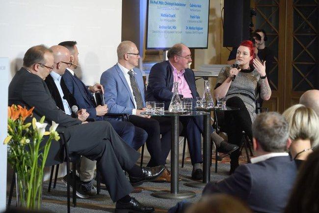 Podiumsdiskussion anlässlich der Verleihung des Camillo-Awards 2020