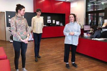 Wiener Spielwut und Tänzerin Sabine Hasicka