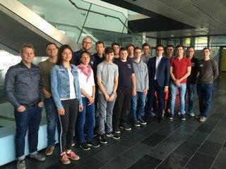 SchülerInnen der HTL Mistelbach zu Besuch in der FH St. Pölten