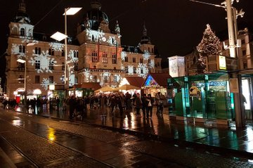 Die weihnachtliche Umgebung in Graz bildete einen schönen Rahmen für den ÖGS-Kongress.