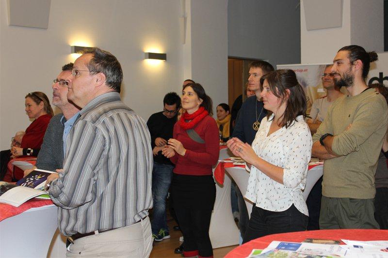 Spannende Vorträge zeichnen die Smartup Forum Veranstaltungen aus - dieses Mal fand das Forum virtuell statt. Anmerkung: das Foto ist vor der Corona-Pandemie entstanden.