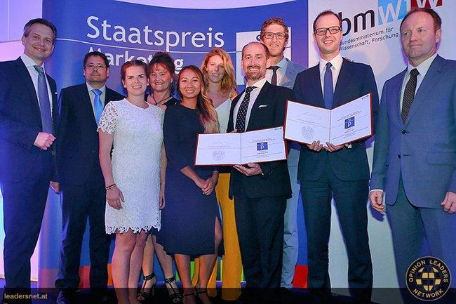 Die SiegerInnen vom Sonderpreis Eventmarketing