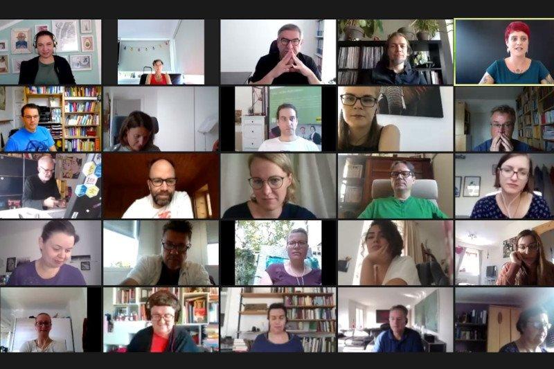 Screenshot vom Arlt Symposium
