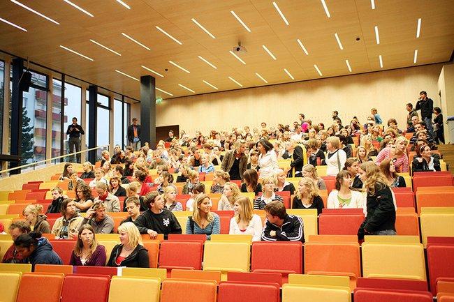 Das Audimax der Fachhochschule St. Pölten