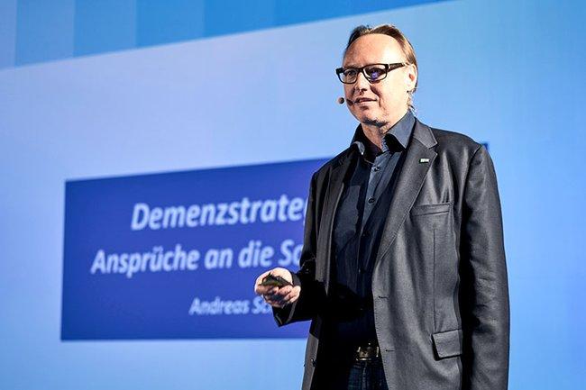 Andreas Schneider bei seinem Vortrag