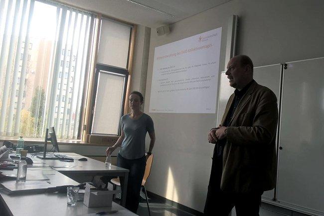 Jochen Prusa vom Österreichischen Berufsverband (OGSA) der Sozialen Arbeit Maria Lenglachner