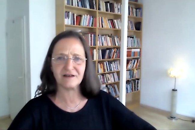 Ellen Bareis bei der Open Lecture des Ilse Arlt Instituts