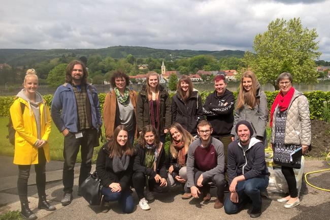 Studierende der Sozialen Arbeit in Ybbs/Donau