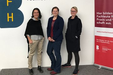 Christine Haselbacher, Christine Schmid und Christina Engel-Unterberger