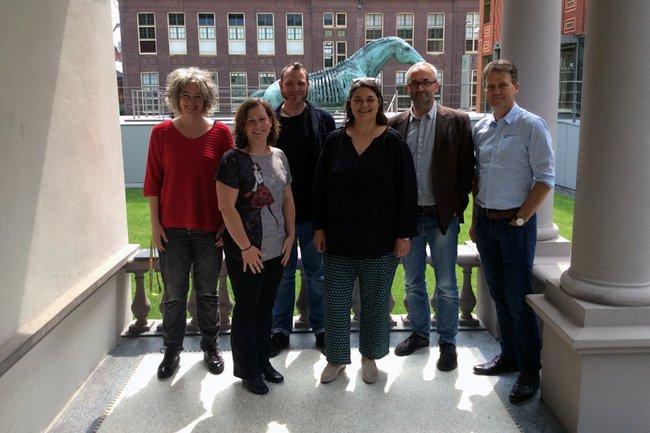 Delegation der Lehrgänge Sozialpädagogik in Enschede