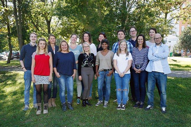 Die TeilnehmerInnen des Masterlehrgangs Sozialpädagogik