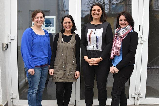 Christine Schmid, Christine Haselbacher, Andrea Nagy, Patricia Renner