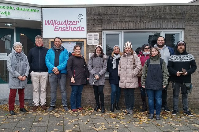 Delegation der Sozialpädagogik der FH St. Pölten in Enschede