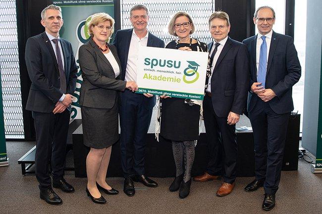 Eröffnung der spusu-Akademie