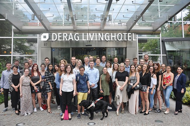 Die Studierenden des Bachelorstudiums Medienmanagement zu Gast in Berlin.