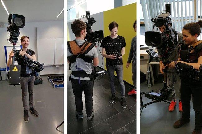 Steadycam-Workshop mit der MasterklasseFilm & TV