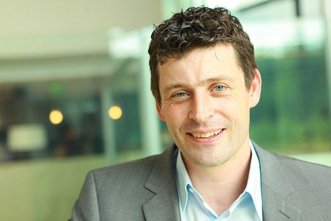 Die Studierenden des Bachelor Studiengangs Medienmanagement erhielten von Alexis Johann interessante Einblicke in die Strategien der styria digital one GmbH.