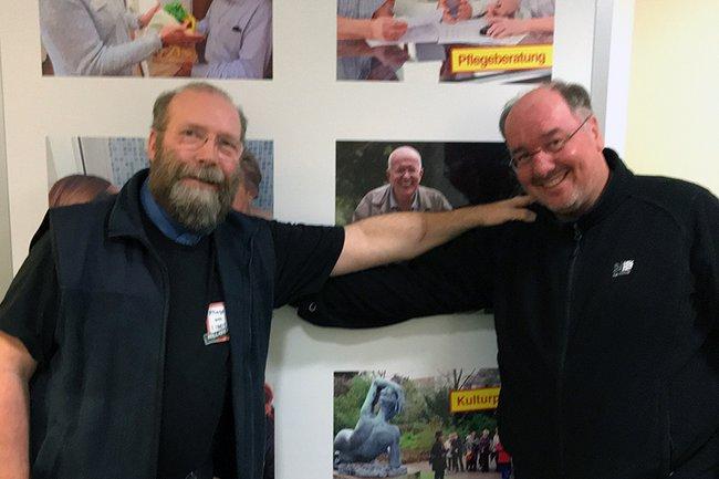 Stefan Block und Christoph Redelsteiner