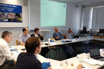 Sitzung des Fachbeirates des Departments Bahntechnologie und Mobilität