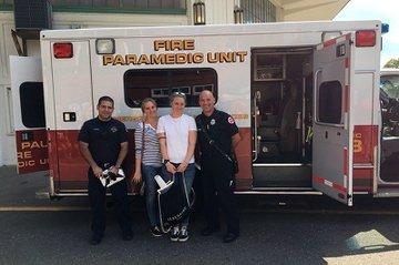 Melanie Berger und Mona-Lisa Riegler mit Paramedics