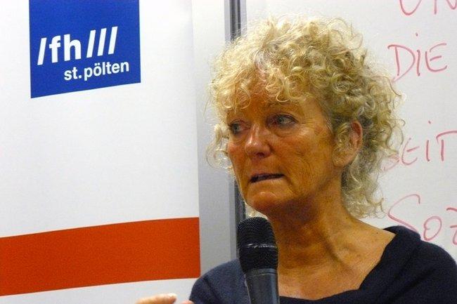 Susanne Elsen an der FH St. Pölten