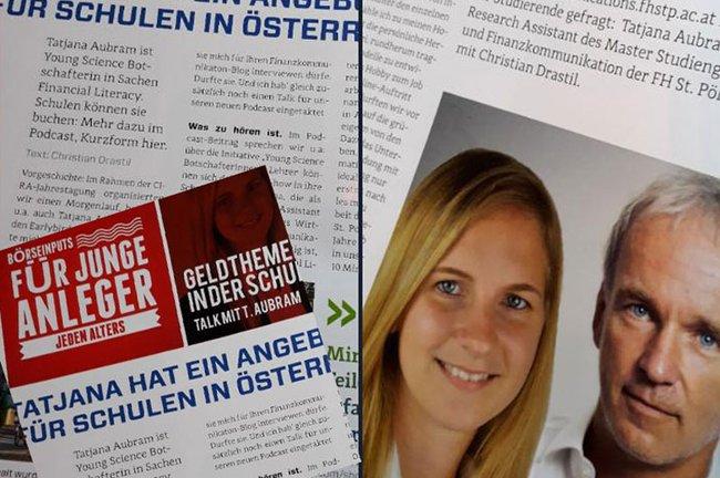 Podcast mit Tatjana Aubram, BA MA, Assistentin für Lehre und Forschung an der FH St. Pölten