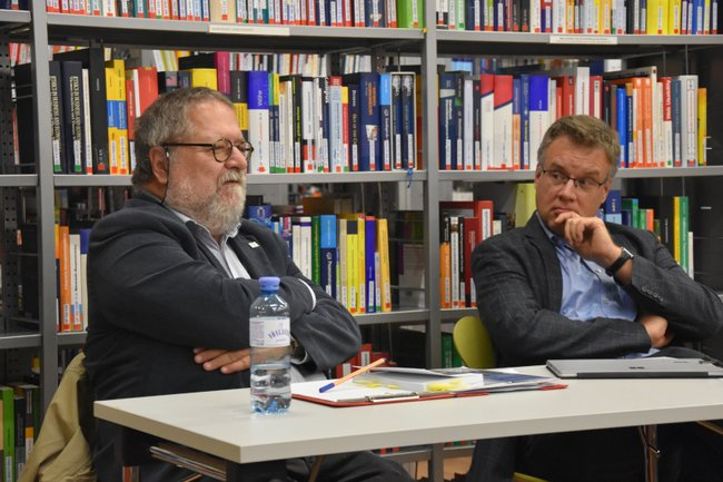 Tom Schmid und Johannes Pflegerl