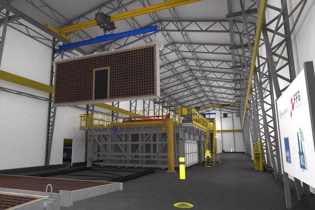 Virtuelle Produktionsanlage der Umdasch Group