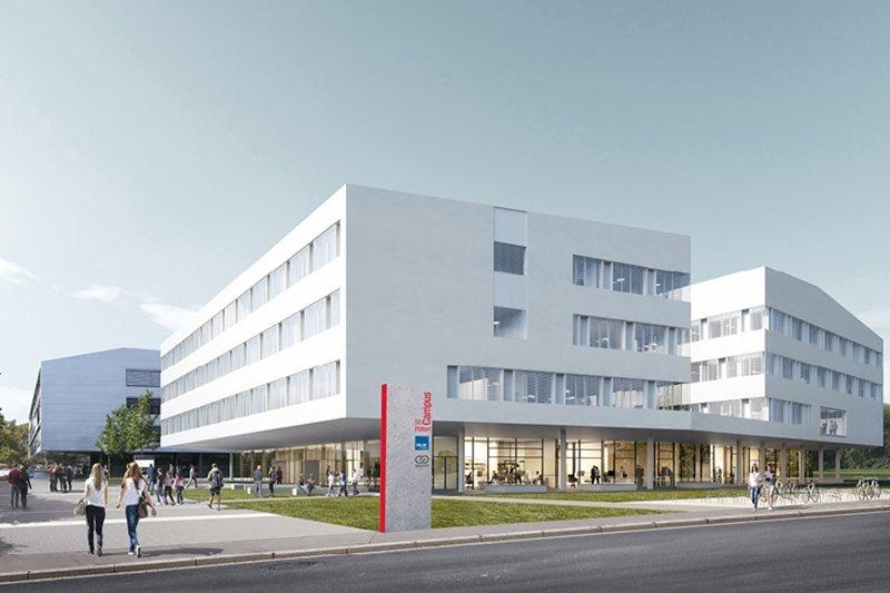 Die FH St. Pölten wächst bis 2021 zum innovativen Campus St. Pölten