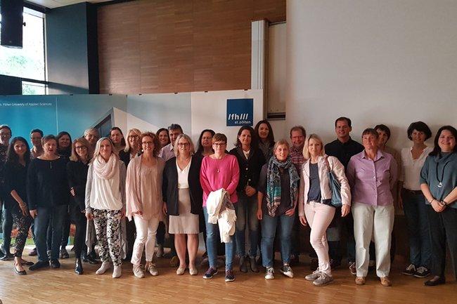 TeilnehmerInnen des Treffens mit Petra Ganaus
