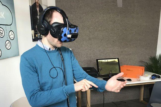 Das Forschungsprojekt der Forschungsgruppe DigiTech macht den McCube 3.0 Solo virtuell begehbar