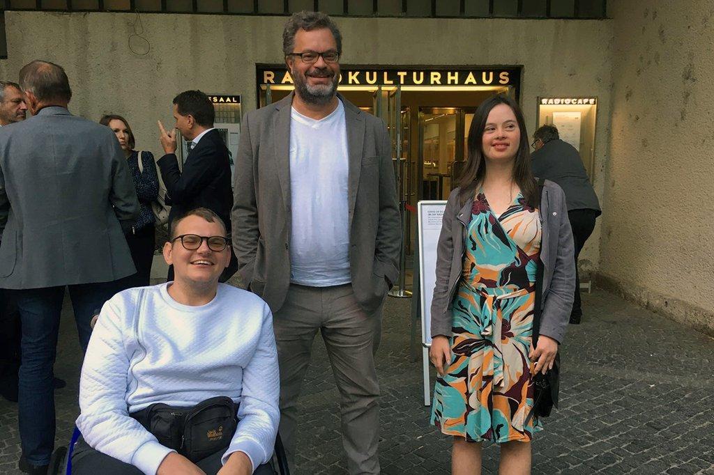 Marcell Vala, Ernst Tradinik & Holly Hurtig