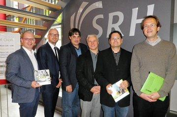Auf dem Bild zu sehen (von links nach rechts): Harald Wimmer, Thomas Müller, Markus Grottke, Andreas König, Helmut Kammerzelt und Alexander Häntzschel