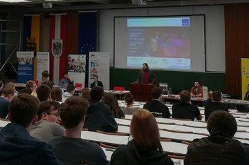 Vortrag Frank Michelberger an HTL Wiener Neustadt