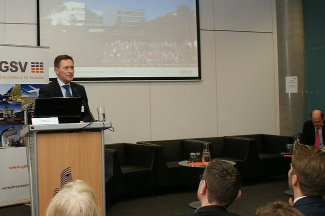 Vortrag von Otfried Knoll beim GSV-Forum