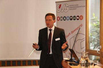 Vortrag Otfried Knoll beim Damen.Logistik.Club