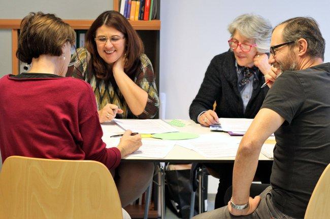 Die Citizen Scientists beim Workshop