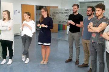 CPI-Teams beim Workshop Evelator Pitch