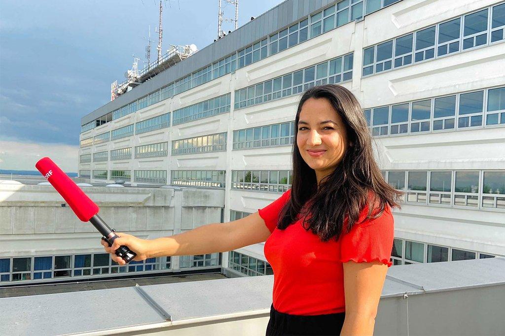 Simone Grössing wird leitende Redakteurin bei unserem FH-Ausbildungsfernsehen