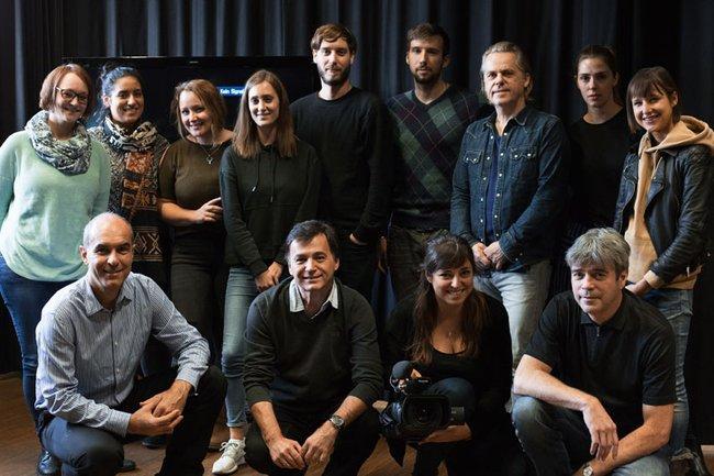 """Workshop """"Regie- und DarstellerInnenführung"""" des Lehrgangs Film, TV & Media - Creation and Distribution"""