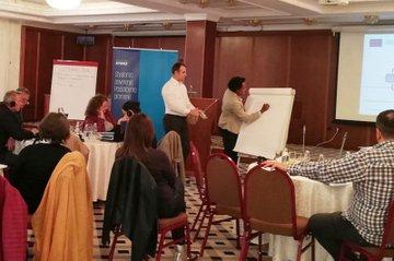 Hirut Grossberger moderiert Workshop in Serbien
