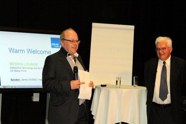 Ewald Volk (l.) und James Owers