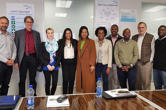 Workshop des Projektteams mit Rail Safety Regulator