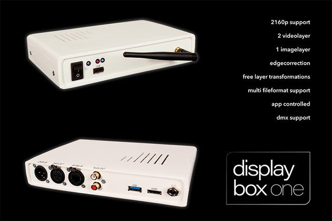 DisplayBox – Easy and modular Mediaplayer System