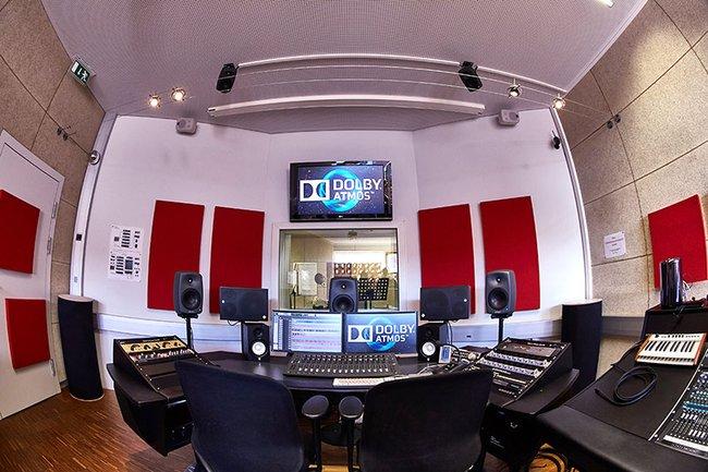 Audio studio St. Pölten UAS