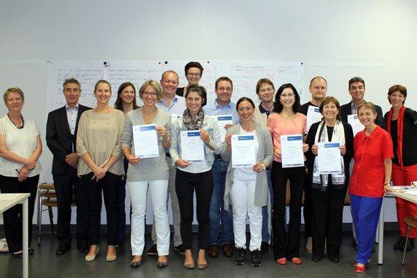 The course participants