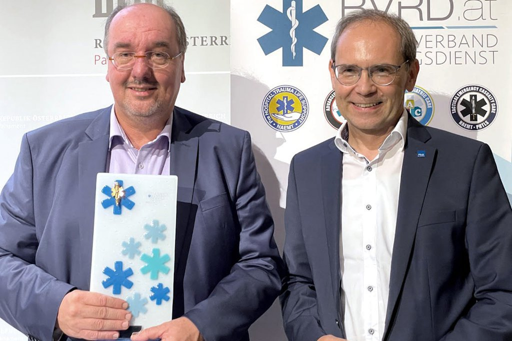 Christoph Redelsteiner and Gernot Kohl