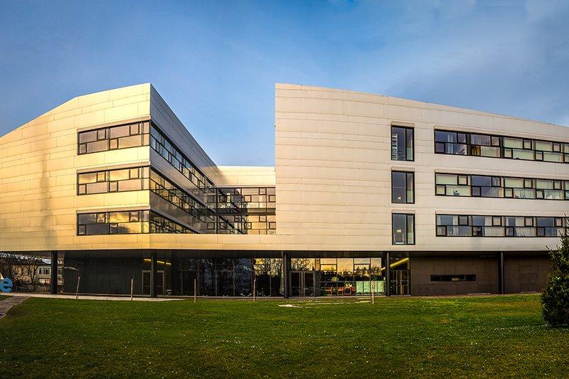 View of the St. Pölten UAS