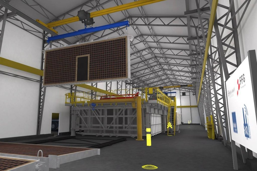 Virtual industrial plant